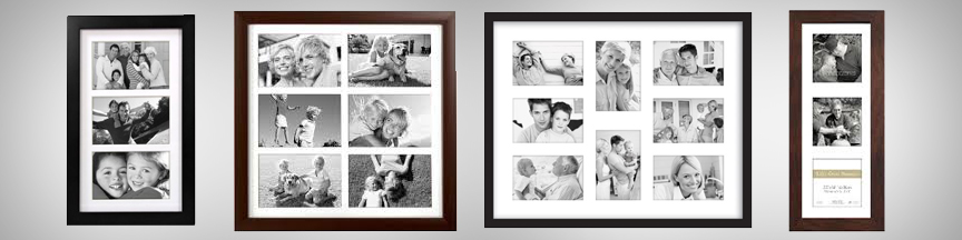 collage picture frames with matting
