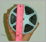 8mm film 200 reel
