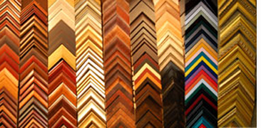 extensive selection of custom framing mouldings