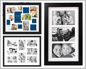 collage frames with matting