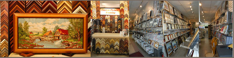 custom and pre-made picture frames super store
